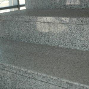 schody granitowe szare g603