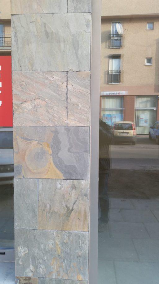 elewacyjny łupek kamień na ścianę fasadę