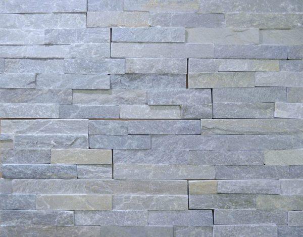 panel ozdobny z łupka grey project stone