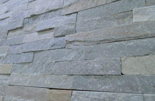 Łupek grey na elewacje ścianę