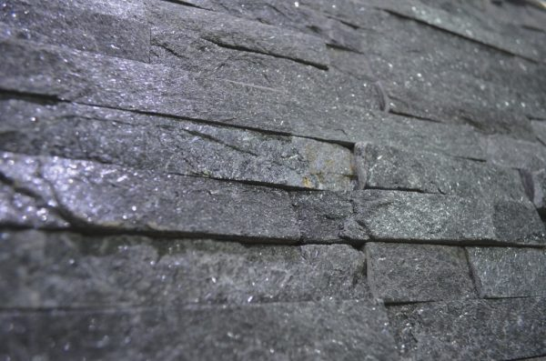 kwarcyt czarny na elewację ścianę