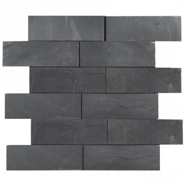 płytki z łupka naturalnego czarnego project stone
