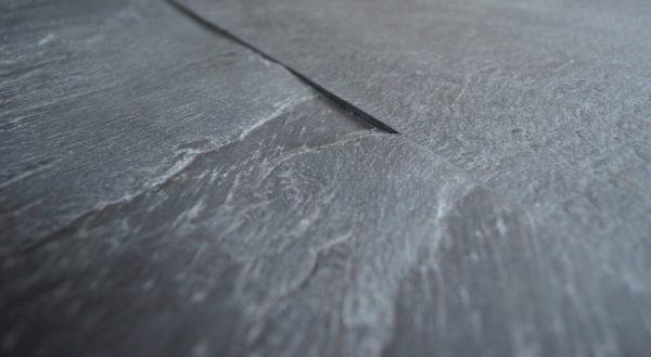 black slate kamień naturalny na ścianę