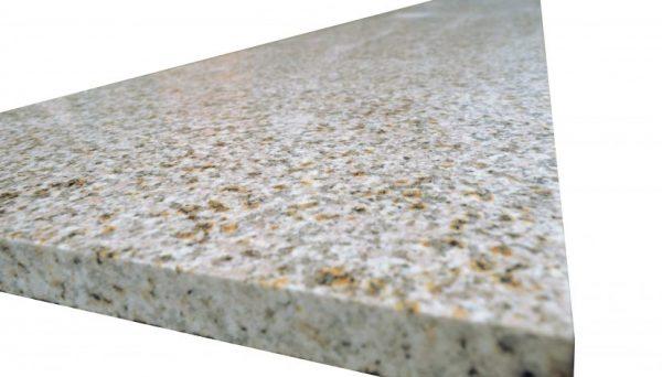 błyszczący granit polerowany żółty poler