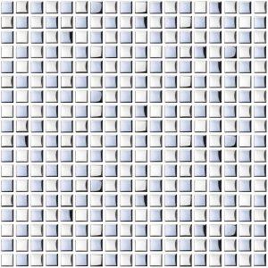 mozaika szklana srebna A-MGL08-XX-012