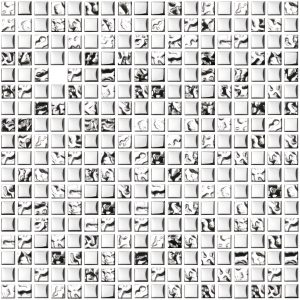 mozaika szklana chrom A-MGL08-XX-019