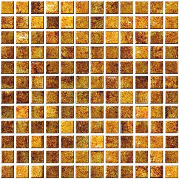 miedziana mozaika szklana ruda A-MGL08-XX-032