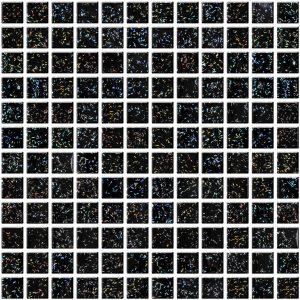 czarna mozaika szklana A-MGL08-XX-067