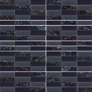 mozaika paski ciemne A-MGL08-XX-093