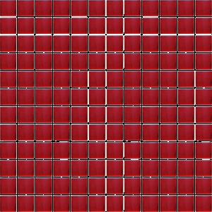 mozaika czerwona szklana A-MGL08-XX-094