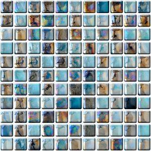 mozaika kolorowa szklana A-MGL14-XX-003