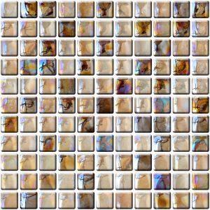 mozaika szklana duże kwadraty A-MGL14-XX-004