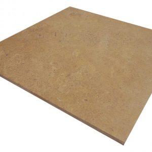 kamień naturalny na posadzkę do salonu kuchni łazienki trawertyn brązowy