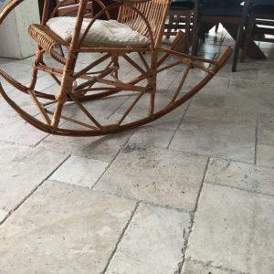 marmur silver shadow szlifowany na podłogę komplet