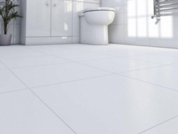 gres biały matowy 60x60
