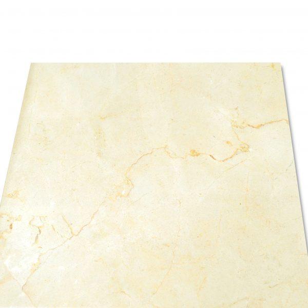 kamień naturalny marmur beżowy kremowy crema marfil na podłogę do salonu