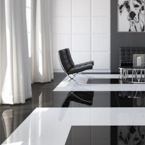Gres polerowany czarny EXTRA BLACK 60x60