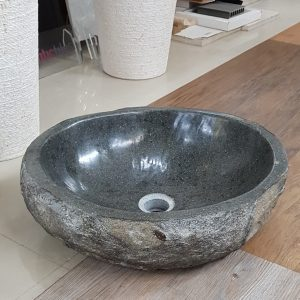 umywalka kamień rzeczny
