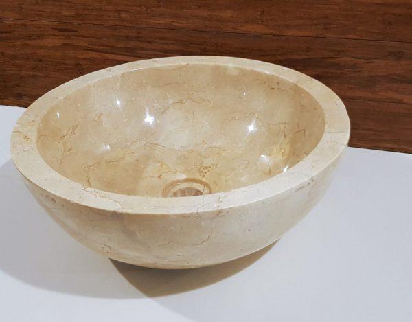 umywalka kamienna beżowa