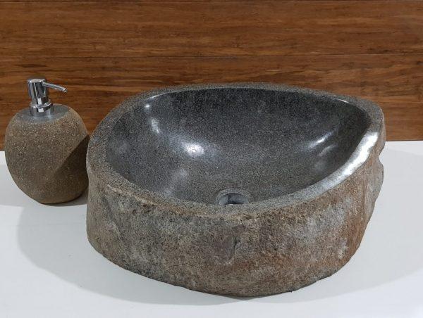 umywalka zlew kamienny kamień naturalny do łazienki