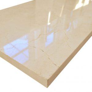 crema marfil płytka marmurowa polerowana